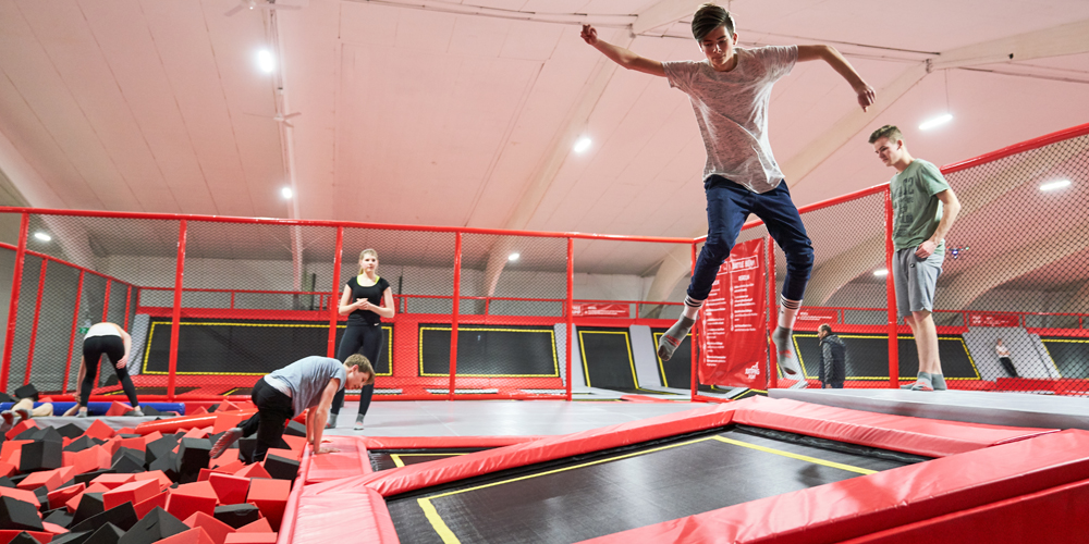 foam pit2 jumping point trampolinpark quickborn